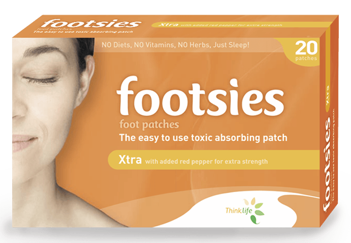 Footsies-Japanese Detox Foot Pads Xtra