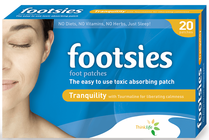 Footsies-Japanese Detox Foot Pads Tranquility